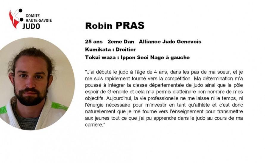 Présentations des candidats au CQP. Robin PRAS